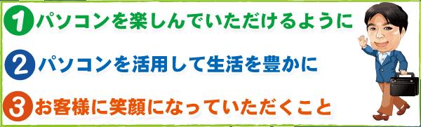 パソコン修理 京都 NCOは、パソコンを直すだけではなく、安心して使えるようにサポート