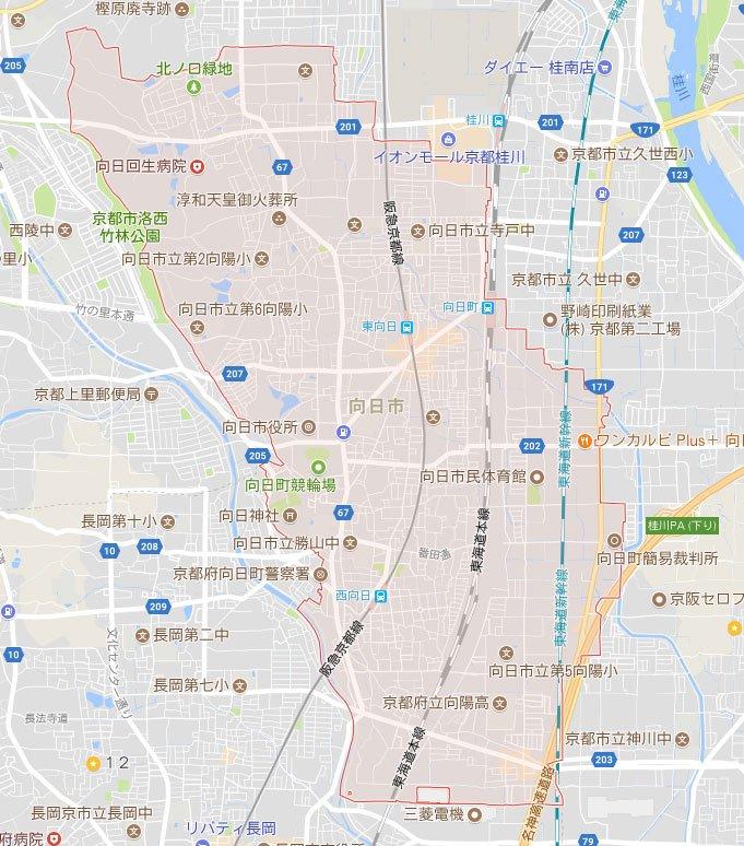 京都府向日市にもパソコン修理や設定にお伺い