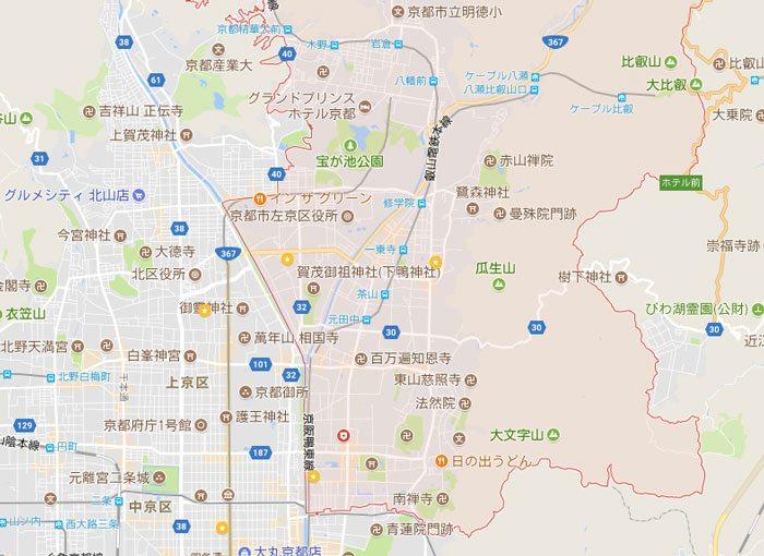 京都市左京区にもパソコン修理やパソコン設定に出張します