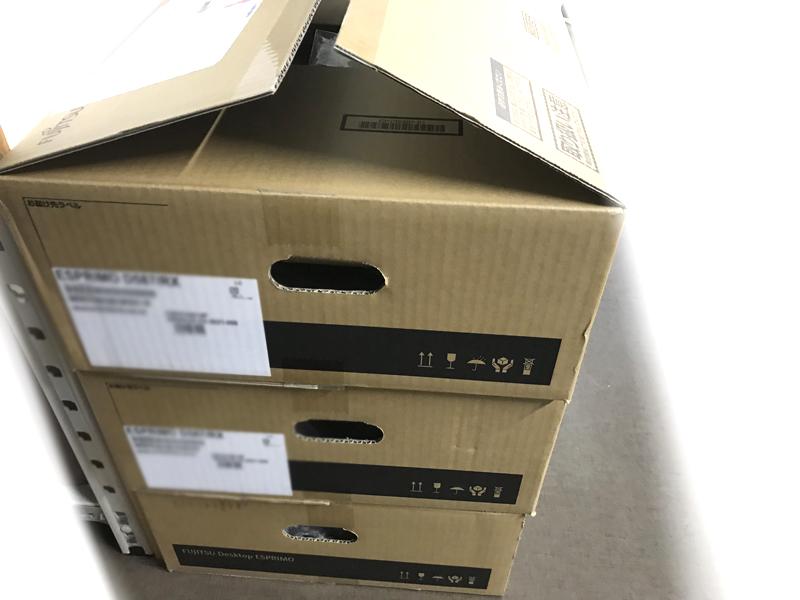 富士通のデスクトップパソコン